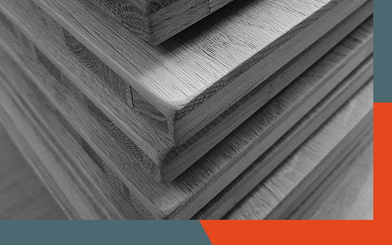 bois utilisé pour conception
